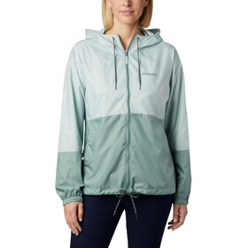 Columbia Flash Forward Windbreaker Jas Dames, cool green/light lichen